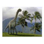 Dinosaurio de Jobaria Tarjetas Postales