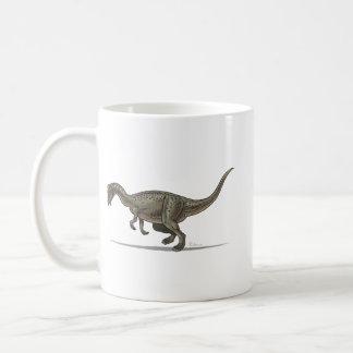 Dinosaurio de Pachycephalosaurus de la taza