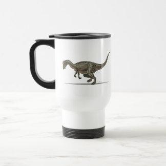 Dinosaurio de Pachycephalosaurus de la taza del