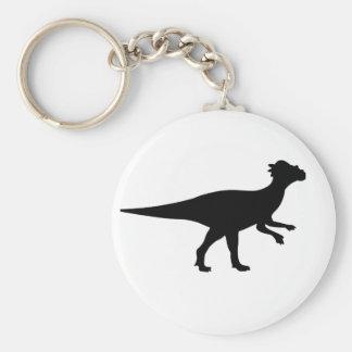 Dinosaurio de Pachycephalosaurus Llavero Personalizado