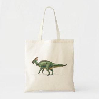 Dinosaurio de Parasaurolophus de la bolsa de asas
