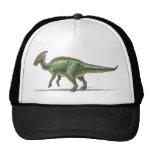 Dinosaurio de Parasaurolophus de la gorra de béisb