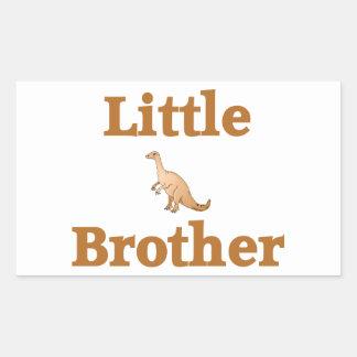 Dinosaurio de pequeño Brother Brown Etiqueta