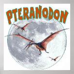 Dinosaurio de Pteranodon Posters