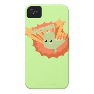 Dinosaurio de RAWR iPhone 4 Carcasas
