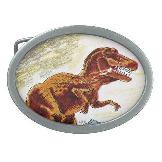 Dinosaurio de Rex del Tyrannosaurus Hebillas Cinturon