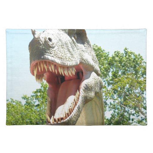 Dinosaurio de Rex del Tyrannosaurus Mantel Individual