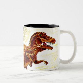 Dinosaurio de Rex del Tyrannosaurus Tazas