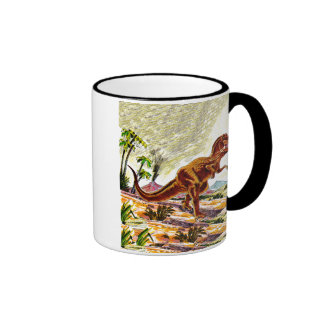 Dinosaurio de Rex del Tyrannosaurus Tazas De Café