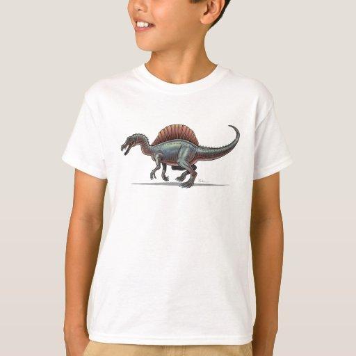 Dinosaurio de Spinosaurus de la camiseta de los Remera