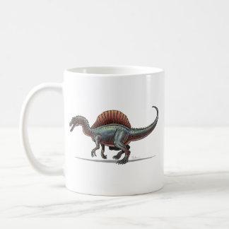 Dinosaurio de Spinosaurus de la taza