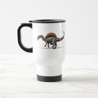 Dinosaurio de Spinosaurus de la taza del viaje