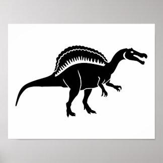 Dinosaurio de Spinosaurus Póster