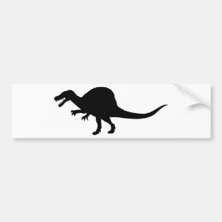 Dinosaurio de Spinosaurus Pegatina Para Auto