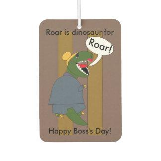 Dinosaurio de T-Rex del día de Boss (femenino)