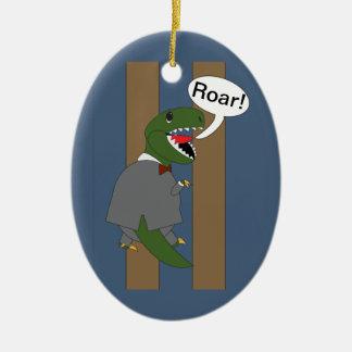 Dinosaurio de T-Rex del día de Boss (varón) Ornatos
