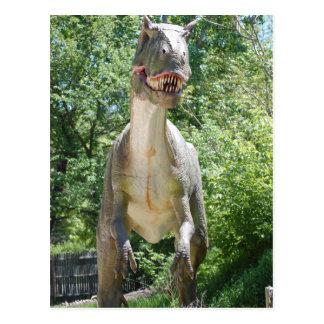 Dinosaurio de T-Rex del Tyrannosaurus Tarjetas Postales