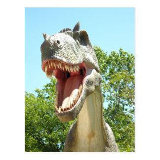Dinosaurio de T-Rex del Tyrannosaurus Tarjeta Postal