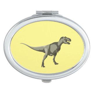 Dinosaurio de T-rex, diseño de Dino Espejo Maquillaje