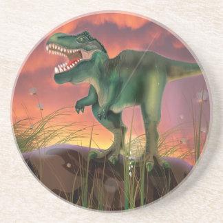 Dinosaurio de T-Rex Posavasos Diseño