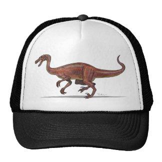Dinosaurio de Troodon de la gorra de béisbol