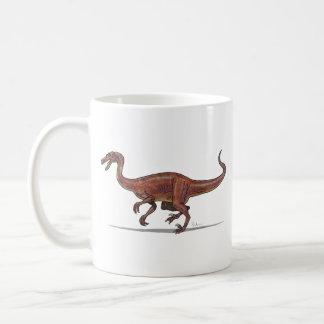 Dinosaurio de Troodon de la taza