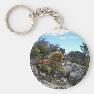 Dinosaurio de Zuniceratops Llaveros
