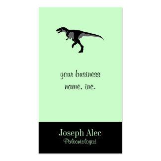 Dinosaurio del Alectrosaurus Tarjetas De Visita