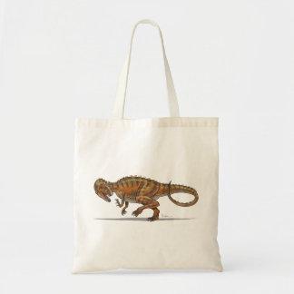 Dinosaurio del Allosaurus de la bolsa de asas