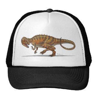 Dinosaurio del Allosaurus de la gorra de béisbol