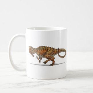 Dinosaurio del Allosaurus de la taza