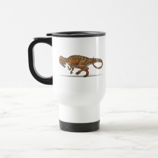 Dinosaurio del Allosaurus de la taza del viaje