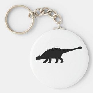 Dinosaurio del Ankylosaurus Llavero