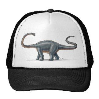 Dinosaurio del Apatosaurus de la gorra de béisbol