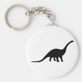 Dinosaurio del Apatosaurus Llavero