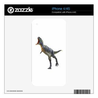 Dinosaurio del Aucasaurus del rugido iPhone 4S Skins