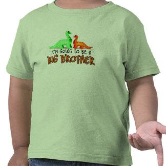 Dinosaurio del BB voy a ser un hermano mayor Camiseta