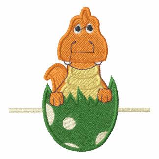 Dinosaurio del bebé en huevo