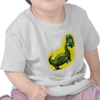 Dinosaurio del bebé camisetas