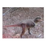 dinosaurio del bebé postal
