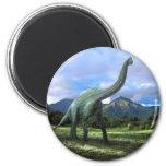 Dinosaurio del Brachiosaurus Iman Para Frigorífico
