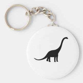 Dinosaurio del Brachiosaurus Llavero Personalizado