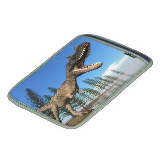 Dinosaurio del Ceratosaurus en la línea de la Fundas Para iPads