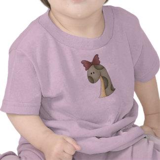 Dinosaurio del chica camiseta