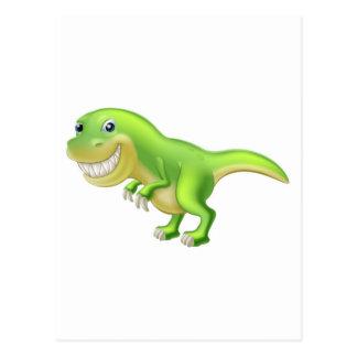 Dinosaurio del dibujo animado de T Rex Postal