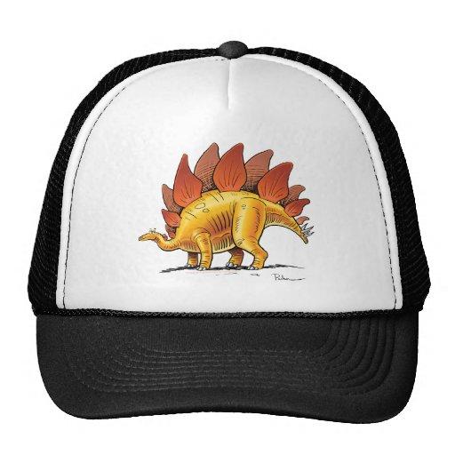 Dinosaurio del dibujo animado del Stegosaurus de l Gorro