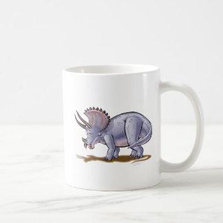 Dinosaurio del dibujo animado del Triceratops de Taza Clásica