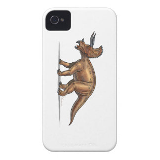Dinosaurio del dibujo animado del Triceratops Case-Mate iPhone 4 Funda
