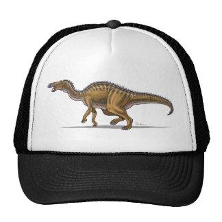 Dinosaurio del Edmontosaurus de la gorra de béisbo