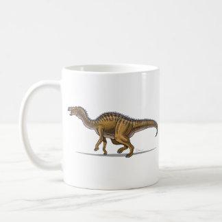 Dinosaurio del Edmontosaurus de la taza